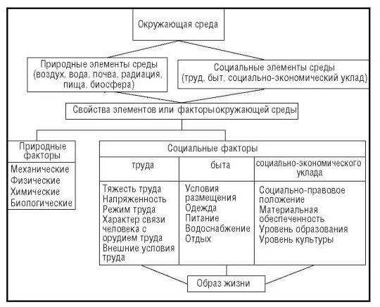Концептуальная схема структуры